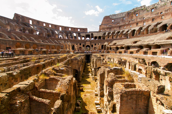 Colosseum. Photo credit:Walks of Italy