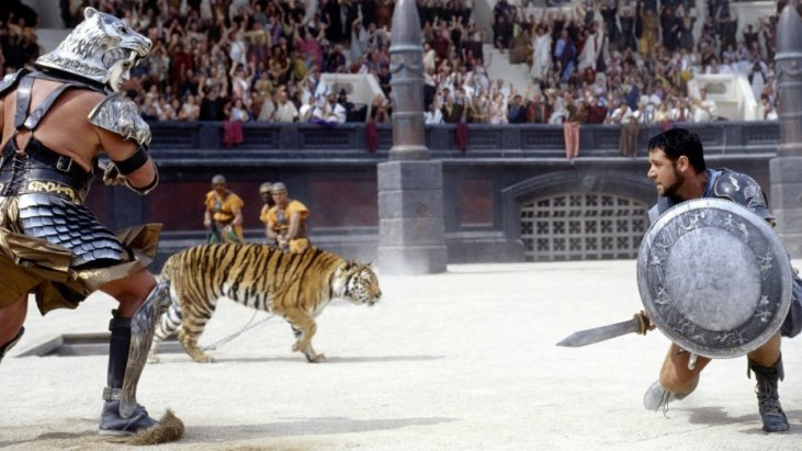 Gladiator (2000). Photo credit: Hollywood Reporter