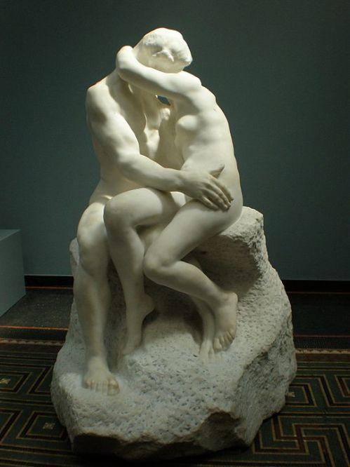 Patung The Kiss karya Auguste Rodin. ©Creative Commons/Philipp Weissenbacher