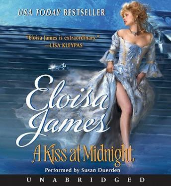 A Kiss at Midnight (Eloisa James's Fairy Tales #1). Photo credit: Goodreads