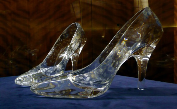 Cinderella glass slippers. Photo credit: Flickr/Glamhag