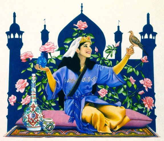 Persian Cinderella. Photo by galleryhip.com