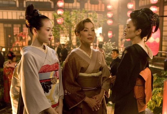 Memoirs of a Geisha. Photo credit: Columbia Pictures