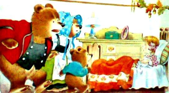 Ikal Emas & Tiga Beruang.