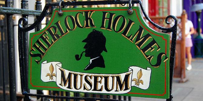 Sherlock Holmes Museum di 221B BakerStreet