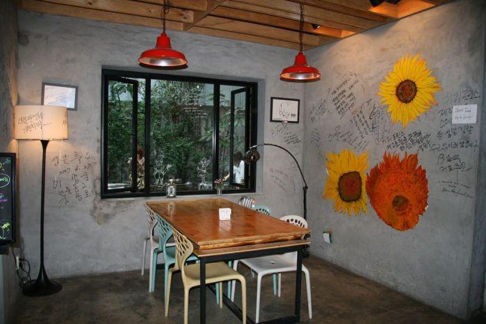 Coffee Prince shop. Photo by Michaela den