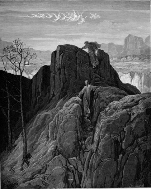 Dante's Purgatorio karya Gustave Dore. Source: Openculture.com