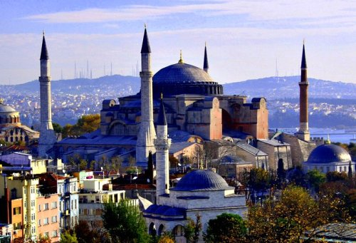 Hagia Sophia. Source: Planetware.com