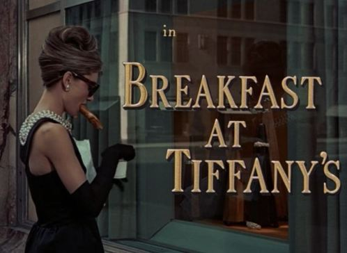 Breakfast at Tiffany's. Photo by hookedonhouses.net