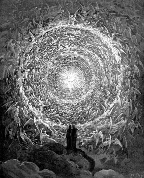 Dante's Paradiso karya Gustave Dore. Source: Wikipedia