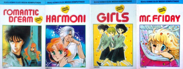 Manga karya Kyoko Hikawa. Photo credit: Goodreads