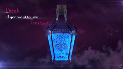 The elixir of life and youth. Photo credit: DeviantArt/JoHnnY8901