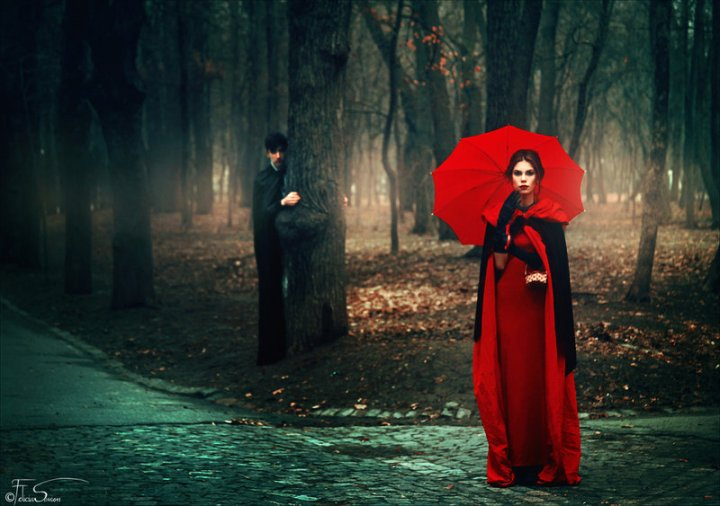 Red Riding Hood and The Big Bad Sexual Predator? Photo credit: DeviantArt