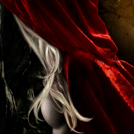 red riding hood. Photo credit: DeviantArt/elclon