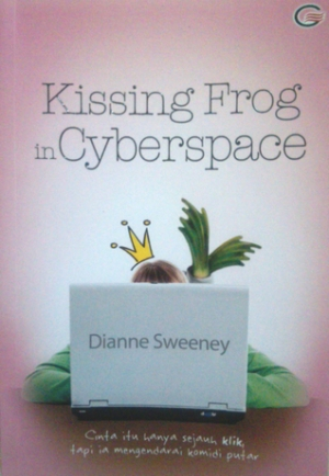 Kissing Frog in Cyberspace. Photo credit: Goodreads