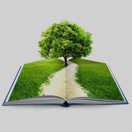 Book, tree of knowledge