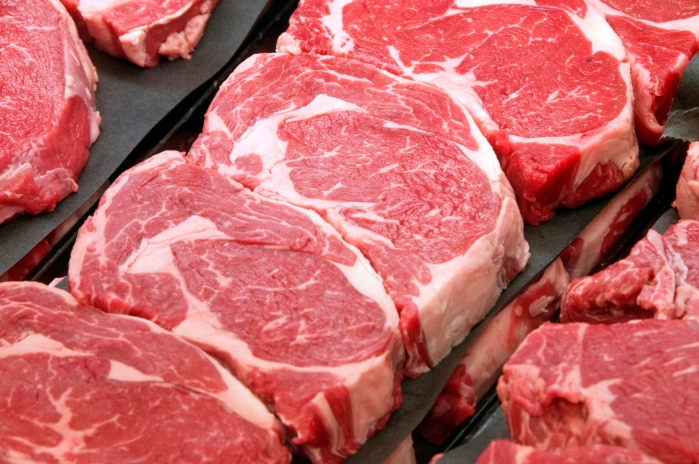 Fresh Ribeye Steaks at the Butcher Shop. Photo credit: iStock
