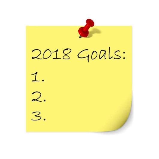 Ilustrasi resolusi tahun 2018. Photo credit: iStock
