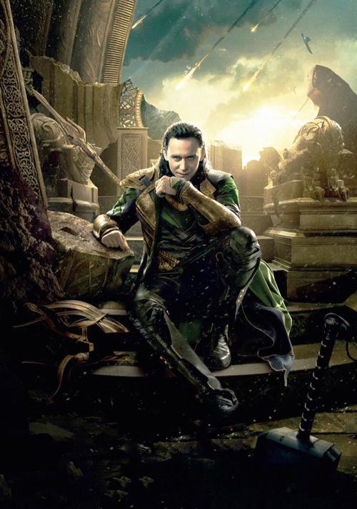 Loki (Tom Hiddleston). Photo credit: Unknown