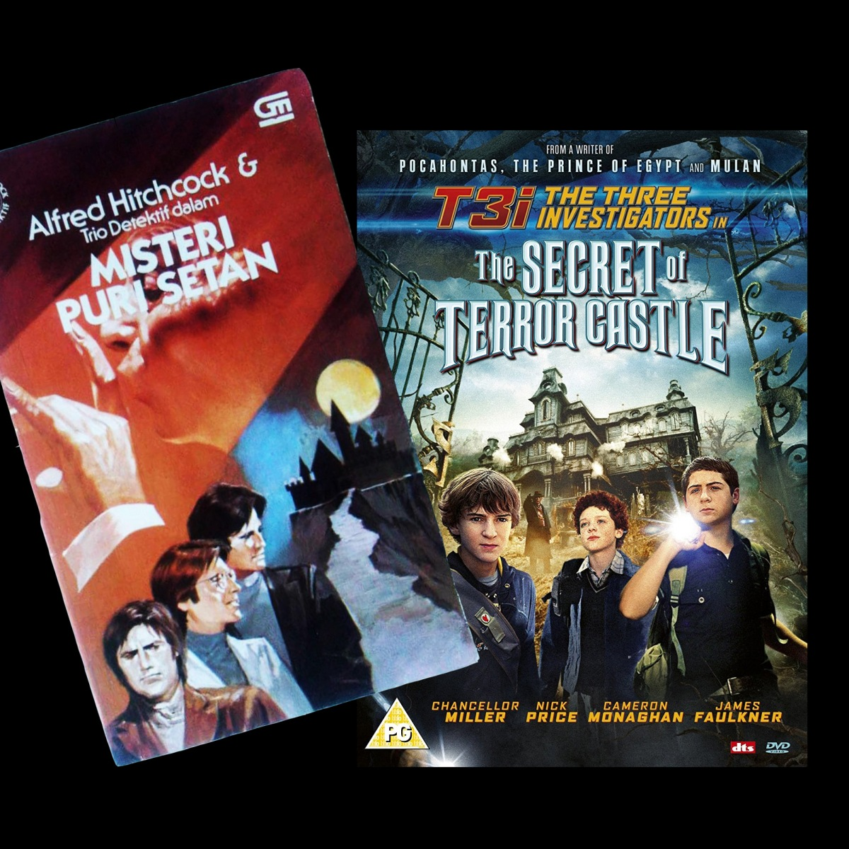 [Review buku & film]: The Three Investigators & The Secret of Terror Castle