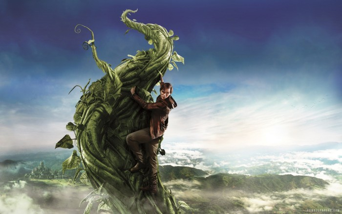 Ilustrasi sulur kacang di Jack The Giant Slayer. Photo credit: Warner Bros Pictures