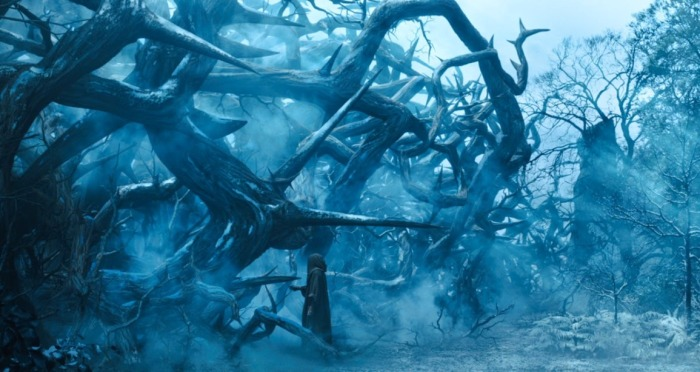 Ilustrasi semak berduri dalam Maleficent. Photo credit: Disney