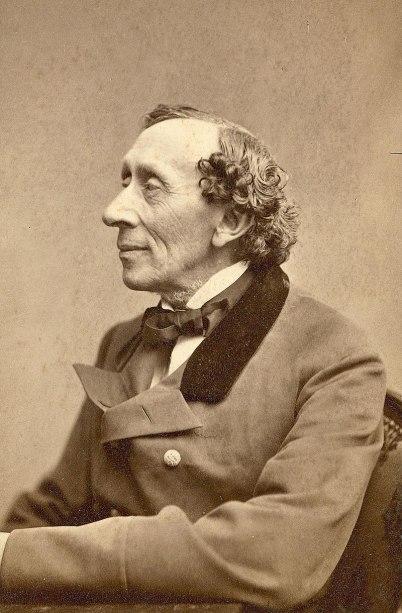 Potret Hans Christian Andersen yang diabadikan Thora_Hallager (1869). Photo credit: ODENSE BYS MUSEER