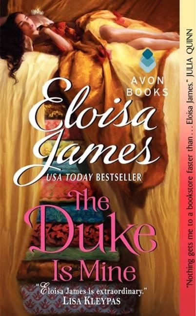 The Duke Is Mine (Eloisa James' Fairy Tales #3). Photo credit: Goodreads