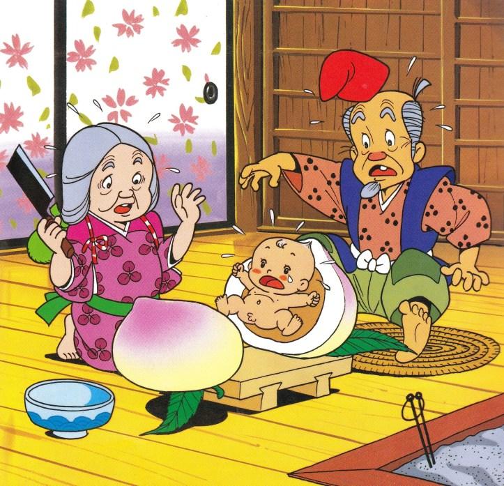 Ilustrasi Momotaro. Haikugirl's Japan