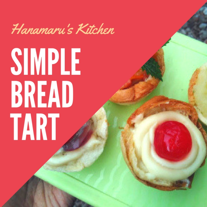 [Resep dari manga] Simple Bread Tart Hasil Nyontek Dari Manga Hanamaru's Kitchen