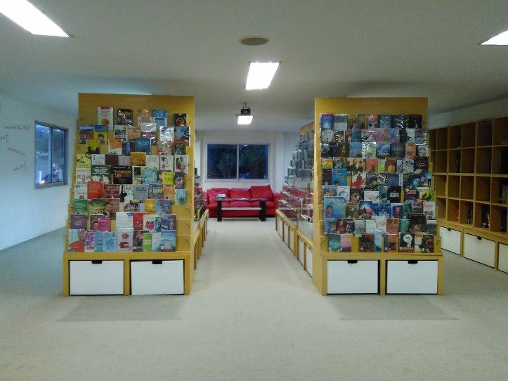 Penampakan ruang baca. Photo credit: Koleksi Pribadi
