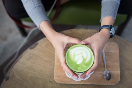 Matcha latte. Photo credit: Pixabay