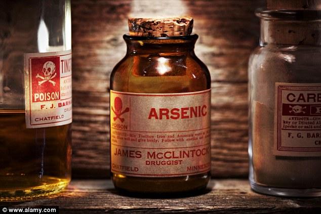 Ilustrasi racun arsenik. Photo: Alamy