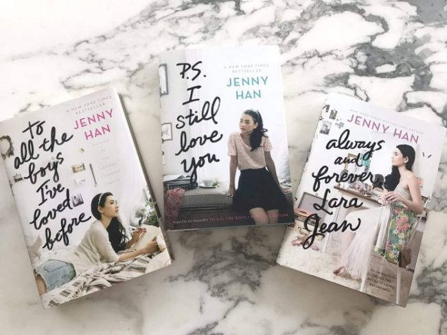 To All The Boys I've Loved Before series. Photo: Twitter/jennyhan