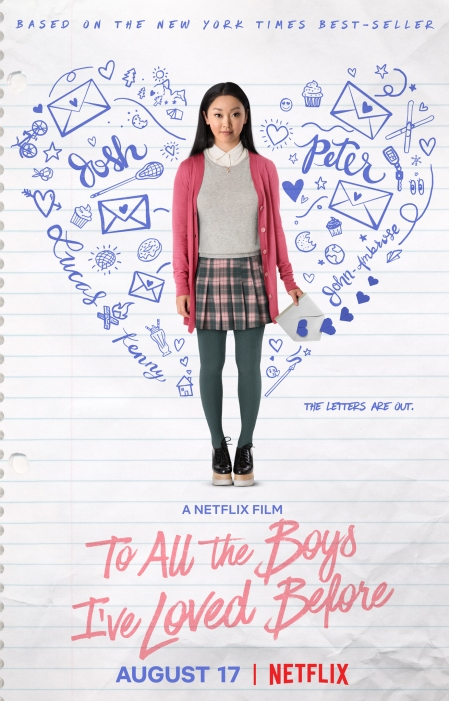 To All The Boys I've Loved Before (movie poster). Photo: IMDB