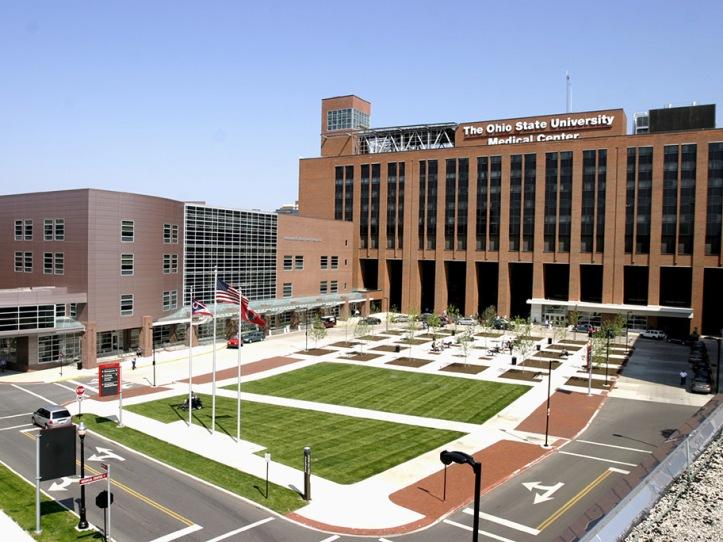 Ohio State University Wexner Medical Center, Columbus, Ohio. Photo: GPD Group