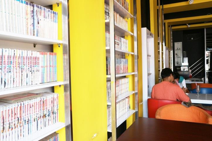 HD'R Comic Cafe. Photo: Tantri Setyorini