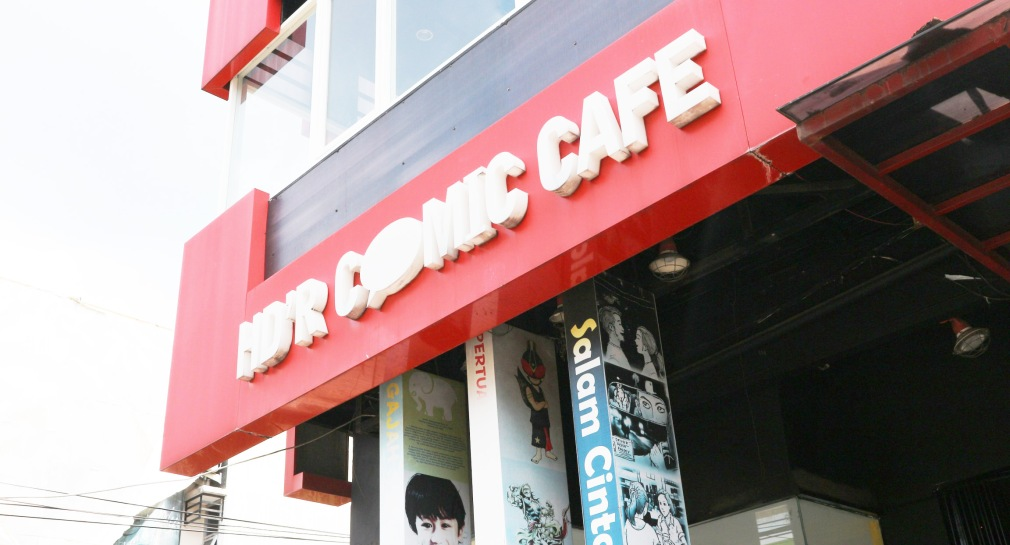 HD'R Comic Cafe. Photo: Tantri Setyorini