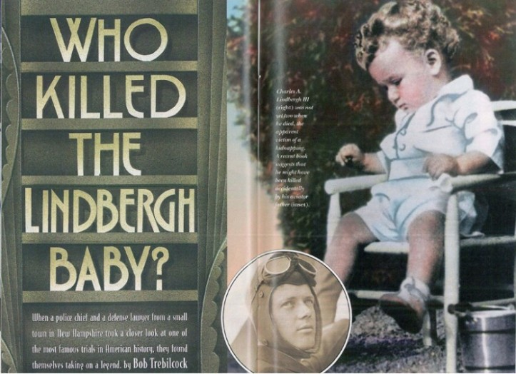 Lindbergh Kidnapping. Photo: Yankee Magazine