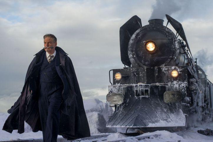 Kenneth Branagh sebagai Hercule Poirot di Murder on the Orient Express. Photo: 20th Century Fox