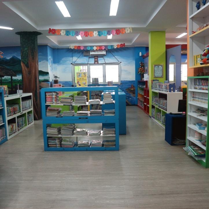 Perpustakaan Umum & Arsip Kota Malang. Photo: Tantri Setyorini