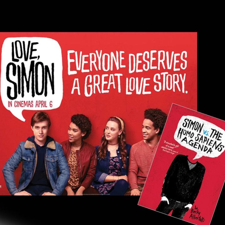 [Review Buku & Film] Simon Vs The Homo Sapiens Agenda dan Love, Simon