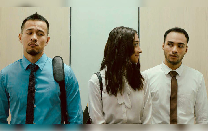 Harris, Keara, dan Ruly di Antologi Rasa. Photo: Soraya Intercine Films.