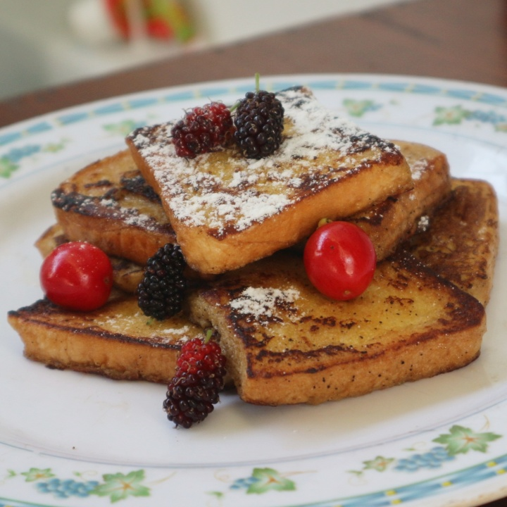 [Resep dari Manga] Simple Coffee French Toast Sontekan dari Hanamaru's Kitchen