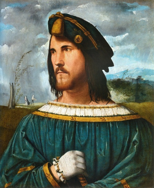 Lukisan Cesare Borgia oleh Altobello Melone. Photo: Wikimedia Commons