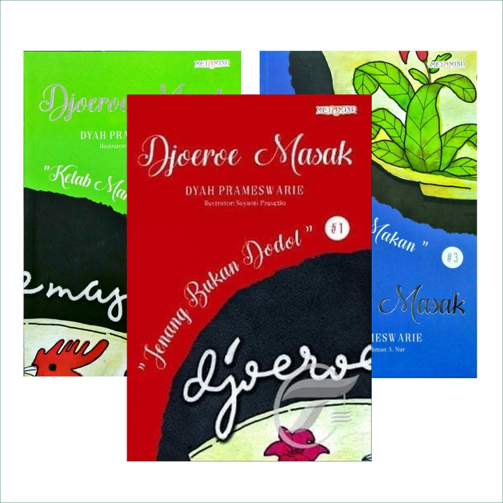 [Review Buku] Djoeroe Masak: Jenang Bukan Dodol (Djoeroe Masak#1)