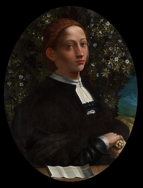 Lukisan Lucrezia Borgia oleh Battista Dossi. Photo: Googe Art Project