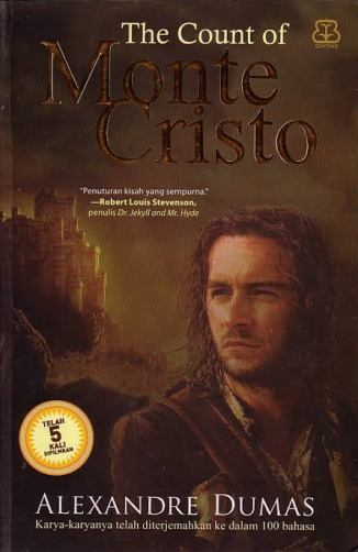 The Count of Monte Cristo. Photo: Bentang Pustaka
