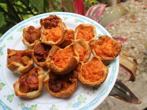 Bread tart. Photo: Tantri Setyorini