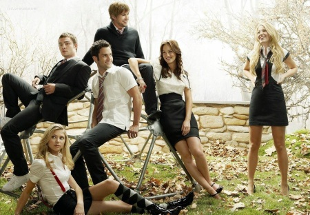 Gossip Girl main casts. Photo: CW